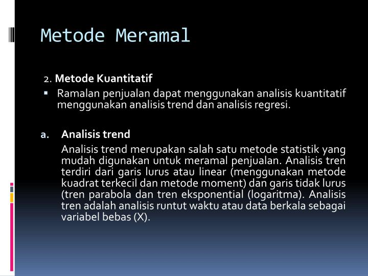 Metode Meramal