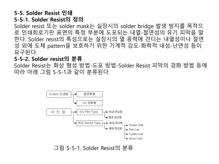 5-5. Solder Resist