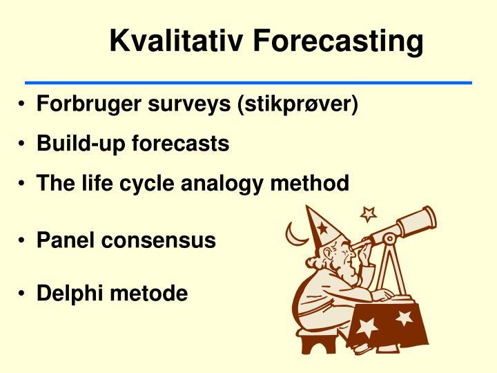 Kvalitativ Forecasting