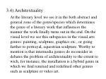 3 4 architextuality