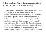 4 the instalation ars dantesca combinatoria of and the concept of transtextuality