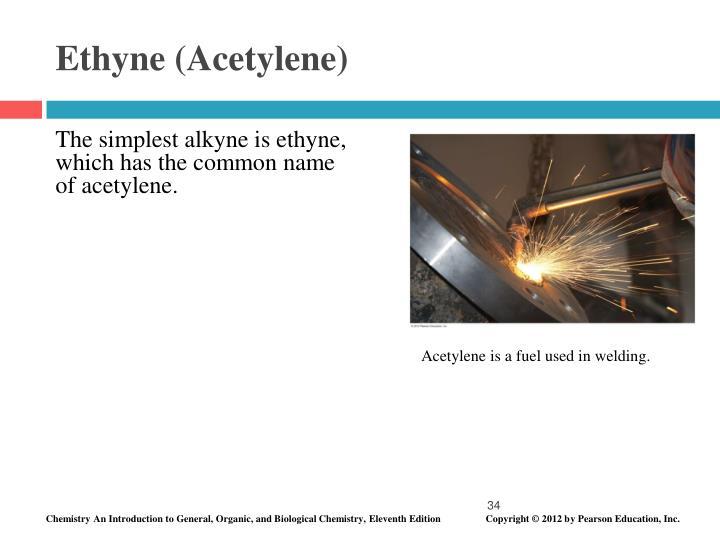 Ethyne (Acetylene)