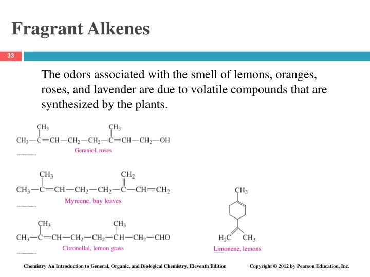 Fragrant Alkenes