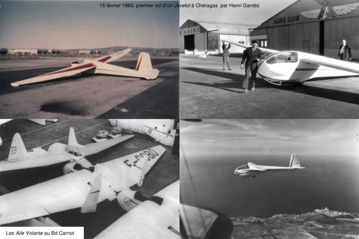 15 février 1960, premier vol d