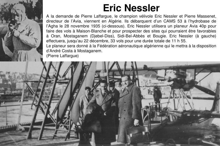 Eric Nessler