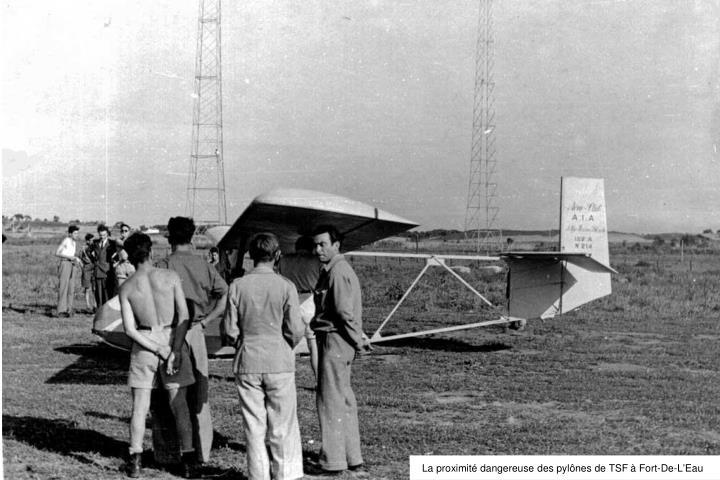 La proximité dangereuse des pylônes de TSF à Fort-De-L