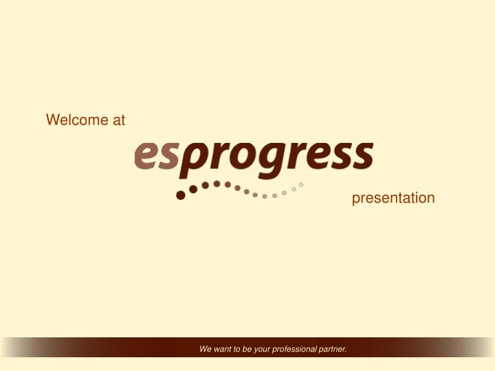 Welcome at