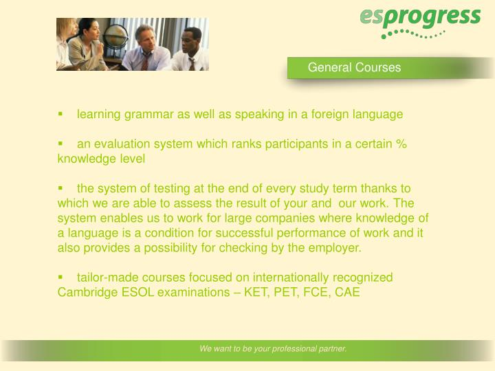 General Courses