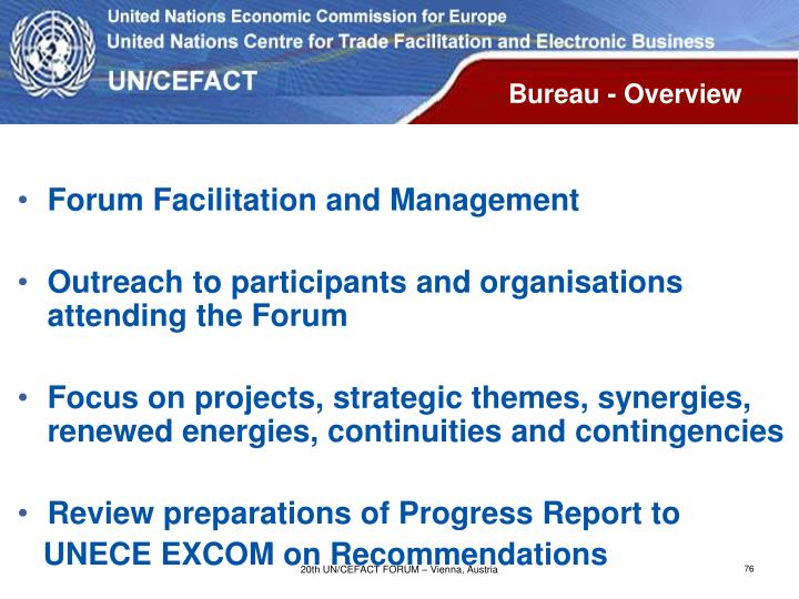 Bureau - Overview