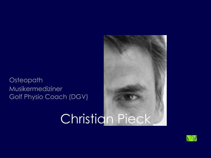 Christian Pieck