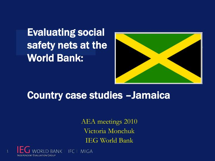 jamaica case study Yesterday i presented our jamaica project to ilaw: cyberstrategy for a developing nation: case study - jamaica for those who would like to delve deeper, here is glenn otis brown's scathing but also.