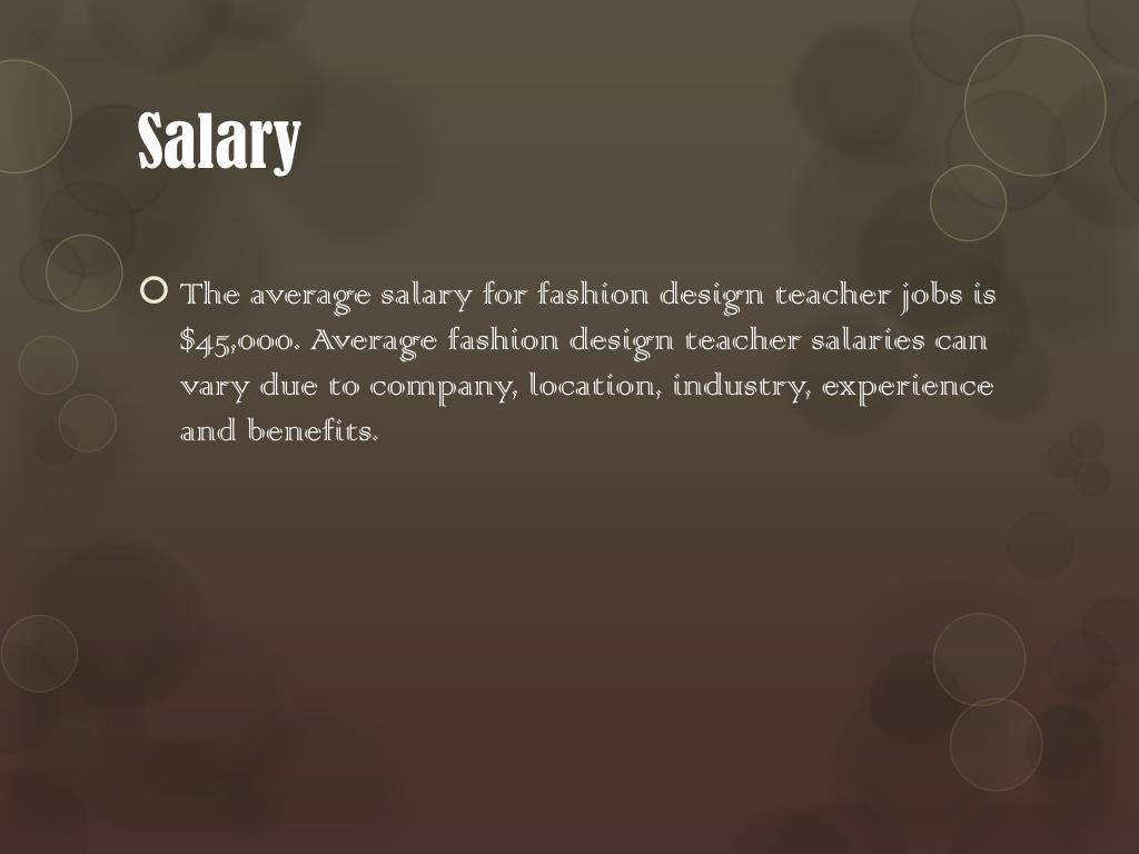 Ppt Fashion Industry Career Project Powerpoint Presentation Free Download Id 3084622