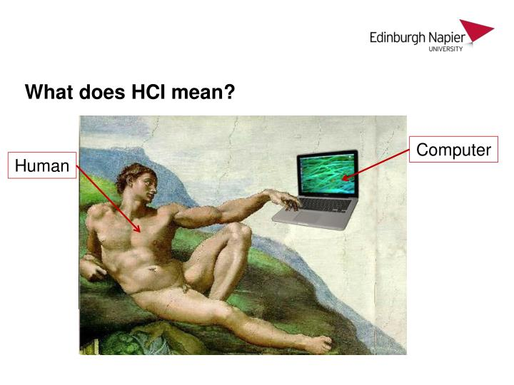 What does hci mean