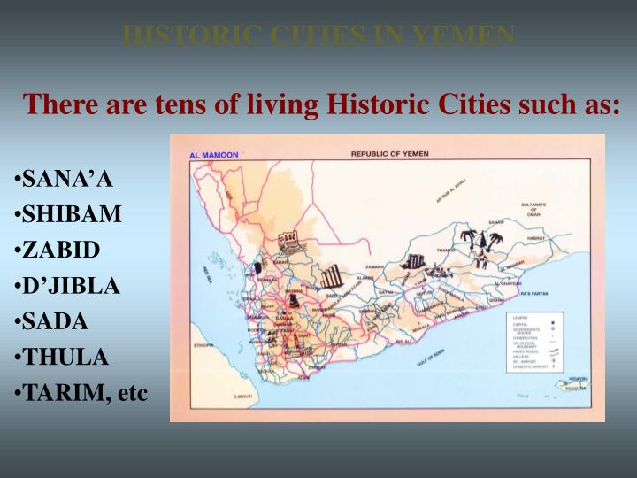 HISTORIC CITIES IN YEMEN