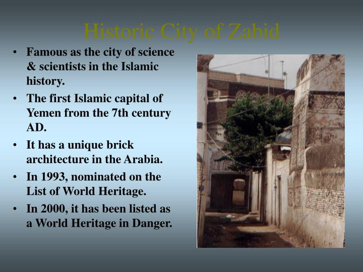 Historic City of Zabid