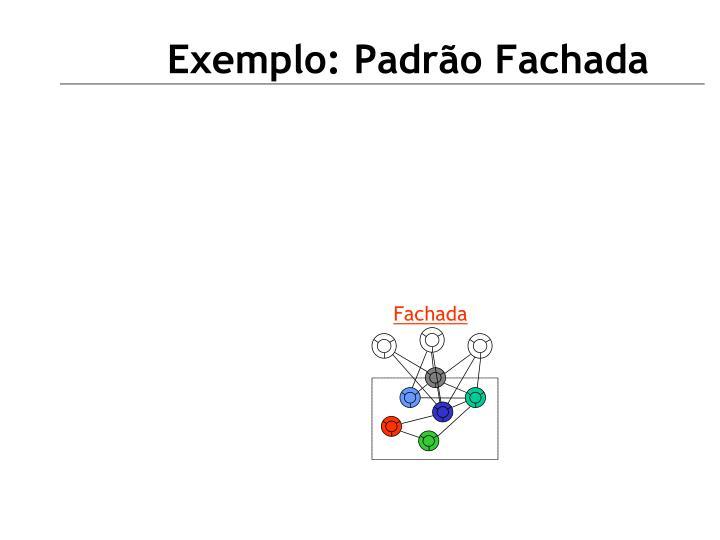 Exemplo: Padrão Fachada
