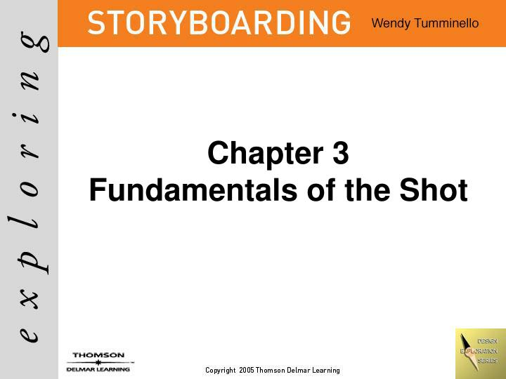 chapter 3 fundamentals of the shot n.