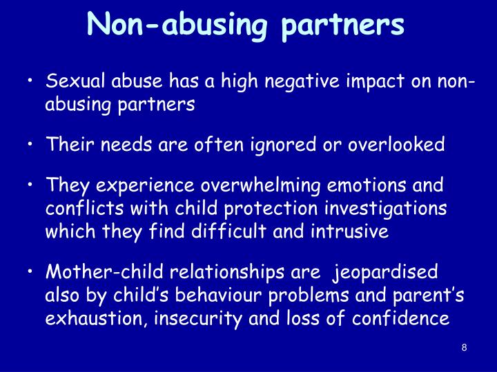 Non-abusing partners