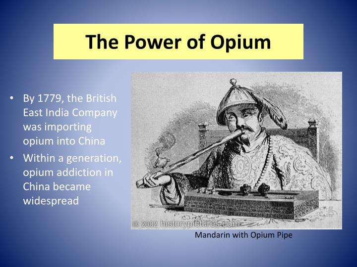 The power of opium