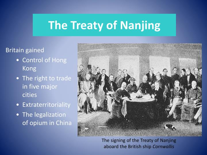 The Treaty of Nanjing