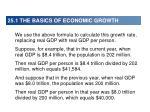 25 1 the basics of economic growth3