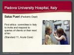 padova university hospital italy
