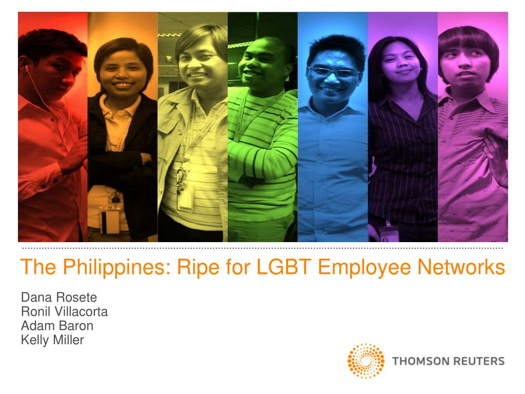 ppt the philippines ripe for lgbt employee networks powerpoint