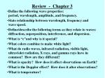 review chapter 3