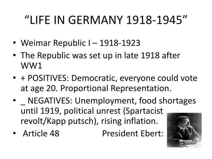 problems faced by the weimer republic essay What were the problems faced by the weimar republic 1919-1923 history a2 study play main problems-the psychological impact of the versailles treaty-revolutionary.