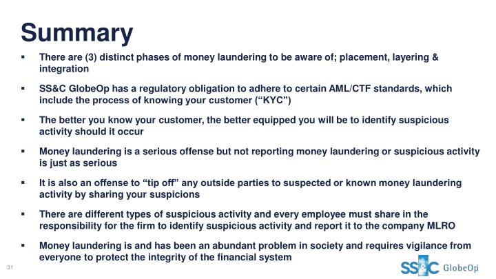 ppt annual anti money laundering aml counter terrorism