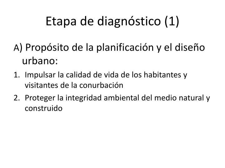 Etapa de diagnóstico (1)