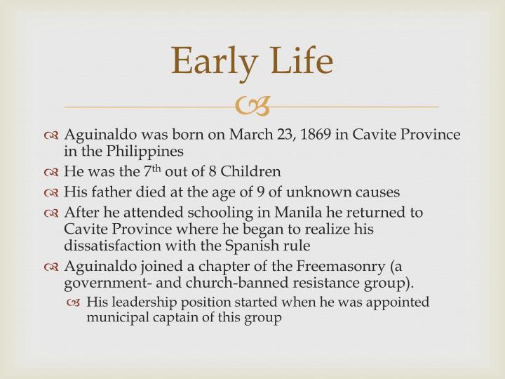 emilio aguinaldo biography