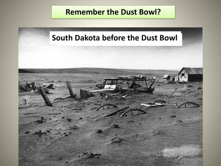 Remember the Dust Bowl?