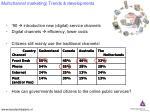 multichannel marketing trends developments