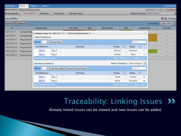 Traceability: Linking Issues