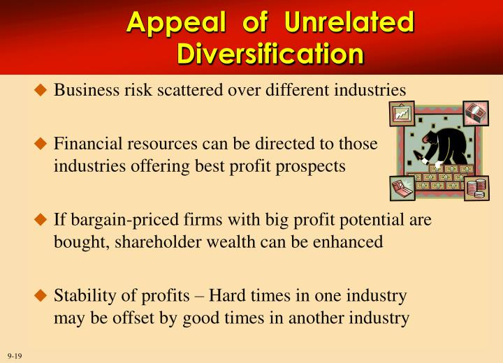 related diversification vs unrelated diversification Market diversification and product diversification are similar in that both are marketing strategies used by companies to grow or expand their business opportunities.