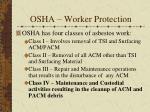 osha worker protection