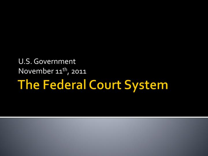 ppt administrative office of the courts powerpoint ppt the federal court system powerpoint presentation 905