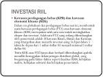 investasi riil3