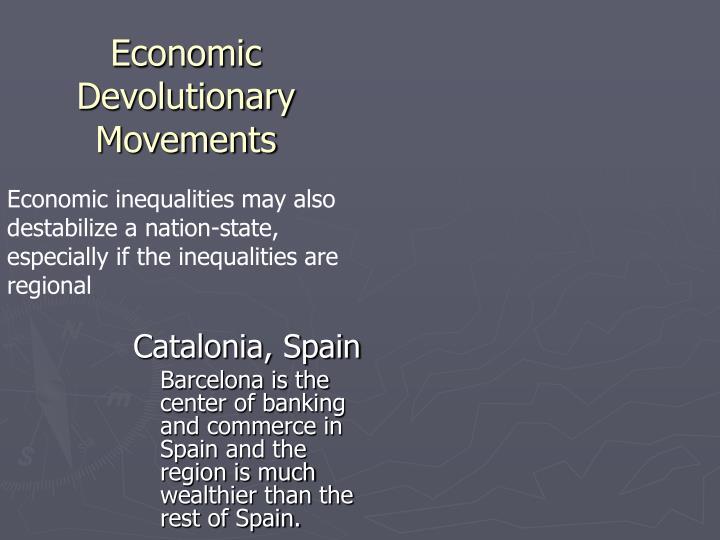Economic Devolutionary Movements