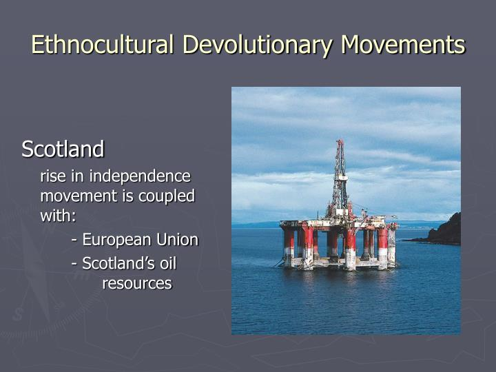 Ethnocultural Devolutionary Movements