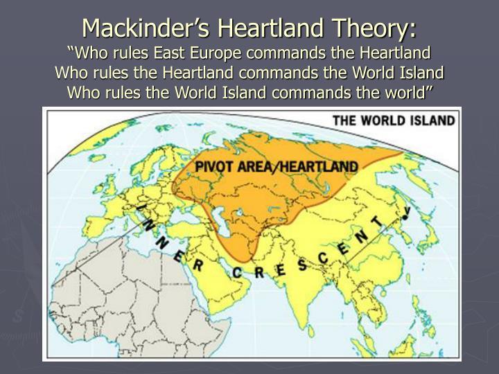 Mackinder's Heartland Theory:
