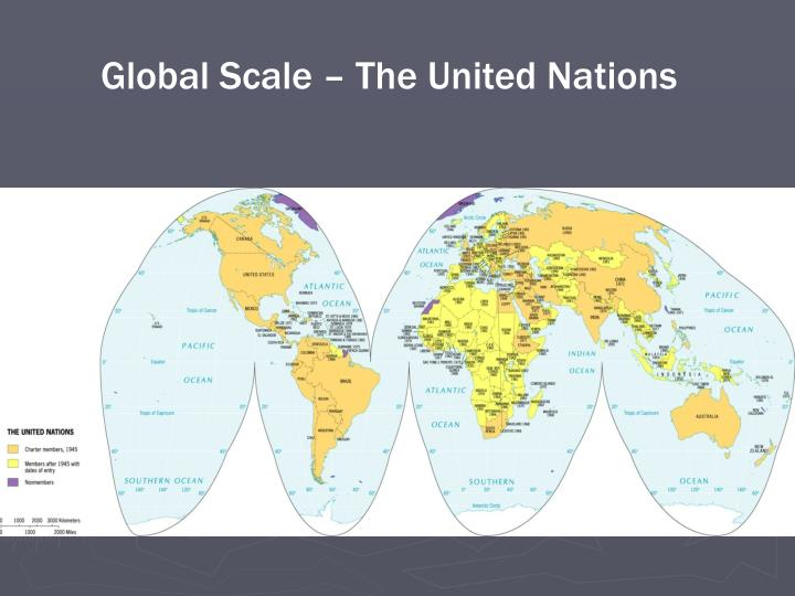 Global Scale – The United Nations