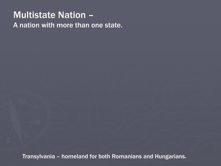 Multistate Nation –