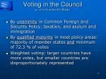 voting in the council p 19 in how the eu works