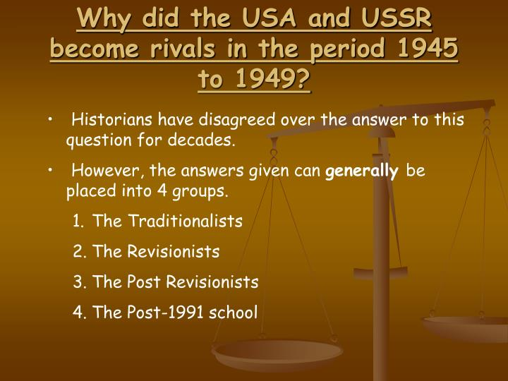 ib cold war notes Ib history paper 2: cold war as we mentioned in the preface, the early years of the cold war are of major importance when you write notes author's tip 1.