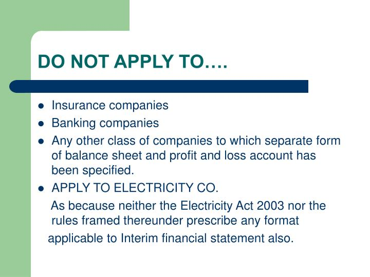 DO NOT APPLY TO….
