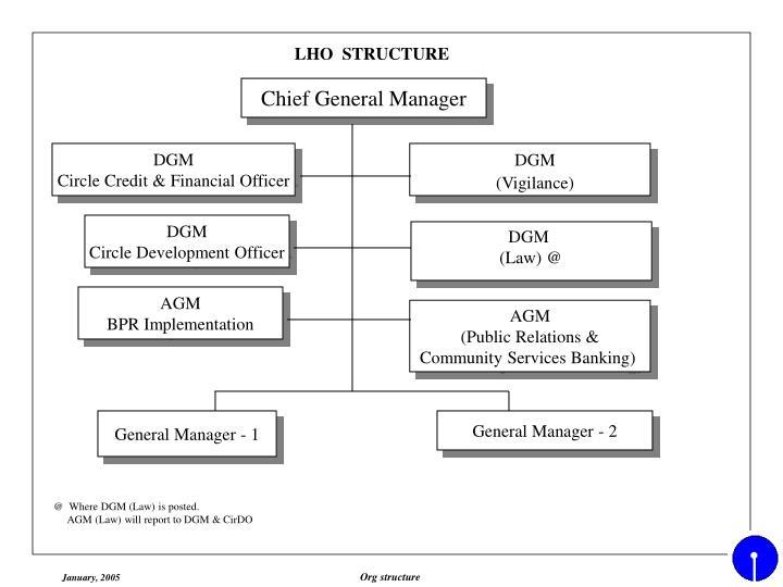 LHO  STRUCTURE
