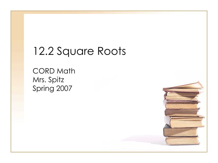 12 2 square roots n.