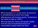 4 4 flashover